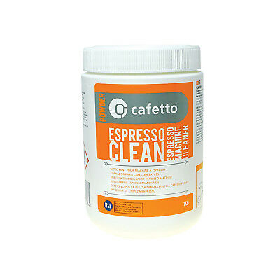 NEW Cafetto 1kg Espresso Clean - Coffee Machine Group Head Cleaning Powder