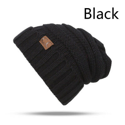 Cute Baby Beanie Boy Girl Toddler CC labeling Knitted Cap Fashion Crochet Hats