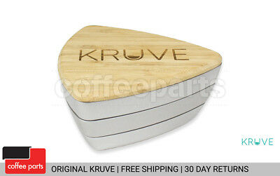 NEW Kruve Silver Ground Coffee Sifter with 12 Sieves