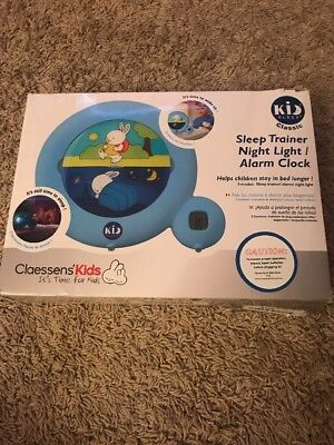 Claessens' Kids Kid'Sleep Classic Sleep Trainer, Blue (open box)