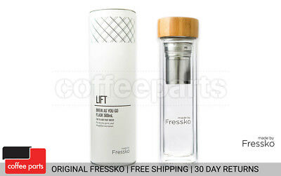 NEW Fressko 500ml Lift Flask - brew tea or sip coffee in style & on the go