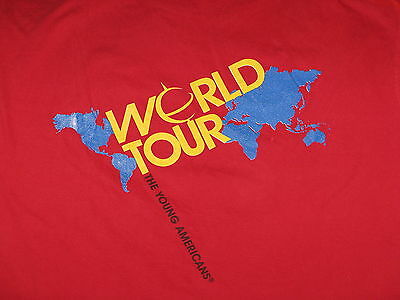 """""""Young Americans – World Tour"""" T-Shirt – Great Image (S)"""