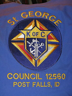 """Knight of Columbus Council 12560 with PIN"" Vest Unique Item (M)"