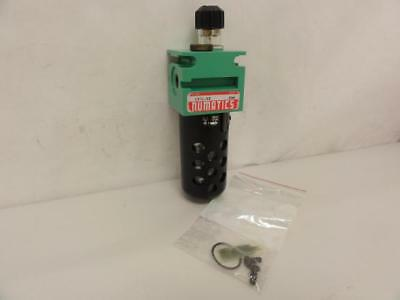 159694 New-No Box, Numatics L21L-02 Inline Pneumatic Lubricator, 1/4 MNPT