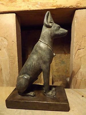 Egyptian statue / art  Anubis / Pharaoh hound / Basenji - god of mummification