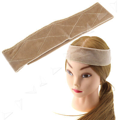 Adjustable Velvet Wig Grip Scarf Comfort Head Hair Band Anti-slip Hair Fastener