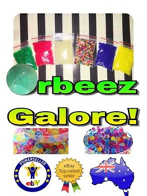 ORBEEZ Qty 10000 Water Beads ---AMAZING PRICE---6 Colour Choices