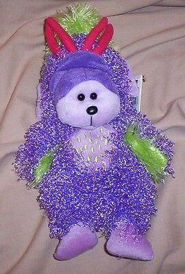 BEANIE KID Ziggy the Monster Bear BK 609  Series 3  Mint With Mint Tag