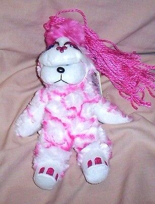 BEANIE KID Pinky Winky the Pink Monster Bear BK 614  Series 3 Mint With Good Tag