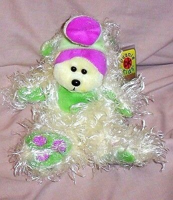 BEANIE KID Snoz the Monster Bear BK 473  Series 1  Mint With Mint Tag