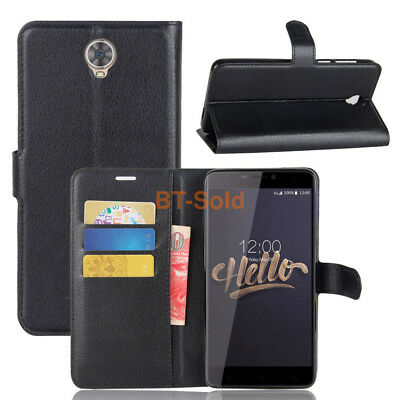 "For Cubot Max 6.0"" Flip Magnetic Card Wallet PU Leather Case Stand Phone Cover"