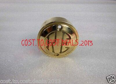 Royal Enfield Brass Made Point Distributor Cover Re Logo Brand New