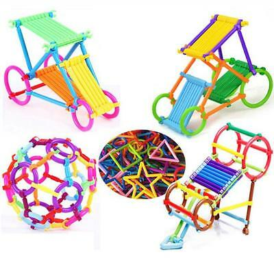 256x Baby Intelligence Sticks Educational Building Blocks Toys Early Learning L