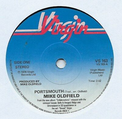 """Mike Oldfield - Portsmouth - 7"""" Single"""