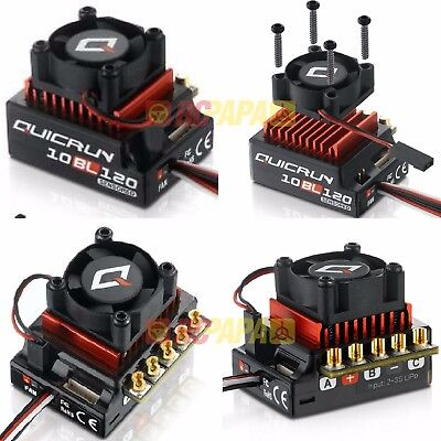 Hobbywing Quicrun 10BL120 120A Brushless Sensored Motor ESC for RC Car Chassis