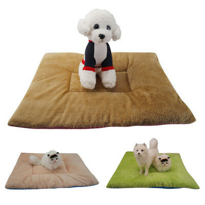 Self-Warming Pet Bed Cushion Pad Dog Cat Cage Kennel Crate Soft Cozy Mat OxGord