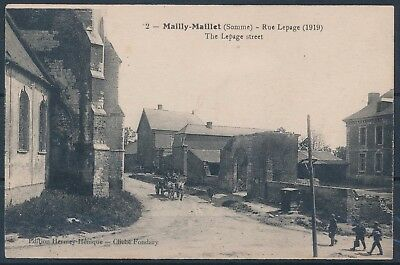 [AI890] Mailly-Maillet - Rue Lepage