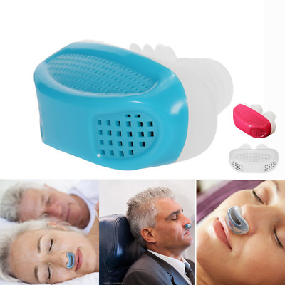 Anti Stop Snoring Snore Free Magnetic Silicone Snore Stopper Sleep Apnea Device
