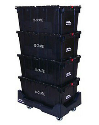 Office 12 Crate Moving System Document Storage 3 Utility Dolly Cart Lot Of 3 New