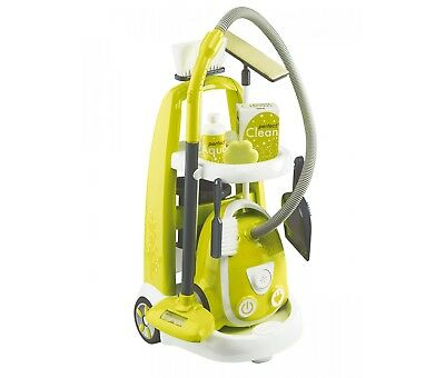 Smoby Cleaning Trolley with Vacuum Cleaner,  roleplay toys, cleaning toys