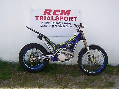 sherco st 250cc factory 2017, trials bike, new, ready to ride
