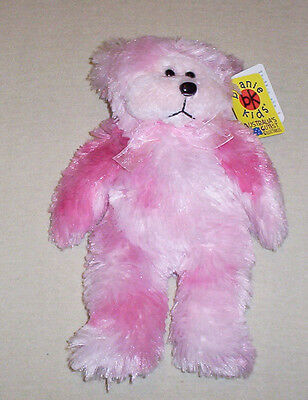 BEANIE KID Fairy Floss the Pink Bear  BK 401 Mint With Mint Tag