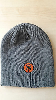 San Francisco Giants Angel Pagan #16 Grey Beanie Hat 27th July 2013 7/27/13