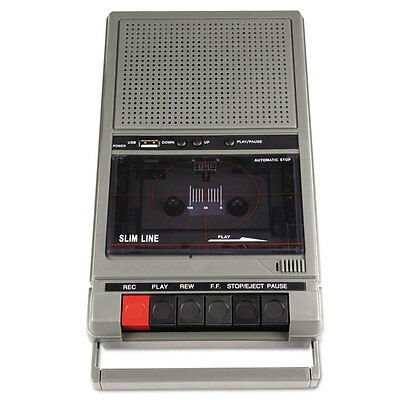 Amplivox Portable Four-Station Listening Center Audio Cassette Recorder SL1039