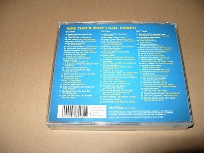 Various Artists - Now That's What I Call Disney (2011) 3 cd are Near Mint