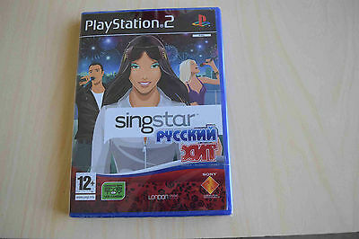 Singstar russian hits PS2  12+  *rare* ( new & sealed) 40 games