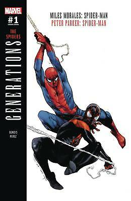 Generations Morales & Parker Spider-Man #1 Coipel Variant | Lowest Price Online!