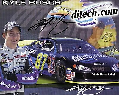 Kyle Busch Signed / Autograph Photo