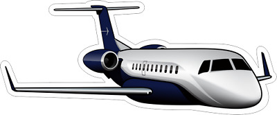Embraer Legacy 600/650 aircraft sticker