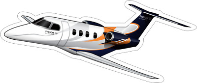 Embraer Phenom 100/300 aircraft sticker