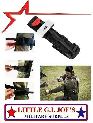 Black Tourniquet Buckle First Aid Medical Tool For EMT & EMS Emergency Injury