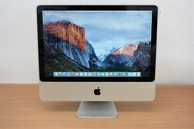 "Apple 20"" iMac C2D 4GB / 640GB - VAT INC - FREE SHIPPING"