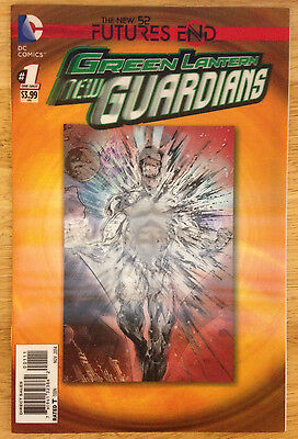 Green lantern: New Guardians: Futures End #1 3D Lenticular Variant Cover DC