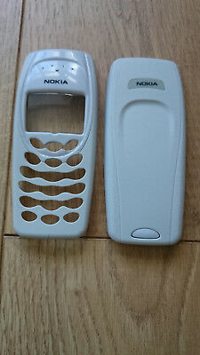 New Nokia 3410 Front Fascia Cover and Back Cover Pale Grey