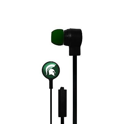 Michigan State Spartans Big Logo Ear Buds. Indian Marketplace. Shipping Included