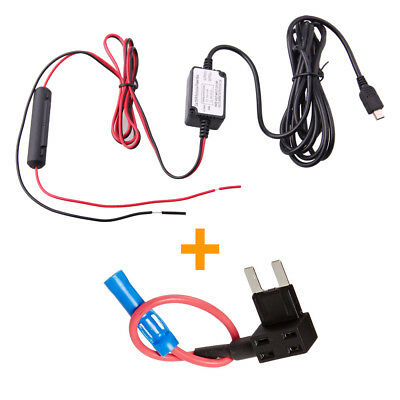 Dash Cam Hardwire + Fuse Kit - Mini USB
