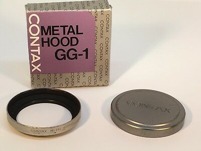 Contax GG-1 Metal Hood and Cap - boxed