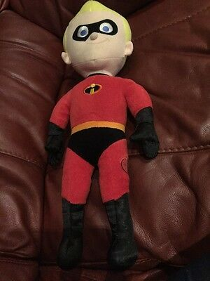 Disney Store Dash From Incredibles Soft Toy Plush