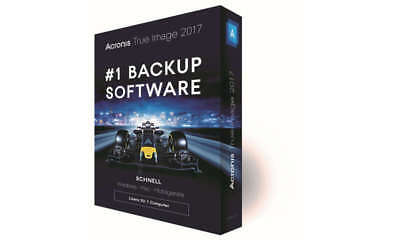 Acronis True Image 2017 Personal Backup Software 1PC Retail