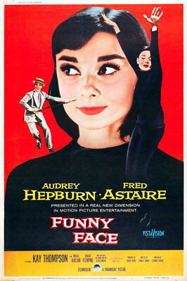 Funny Face (Dvd) 1957 Musical Comedy Romance (Audrey Hepburn, Fred Astaire)