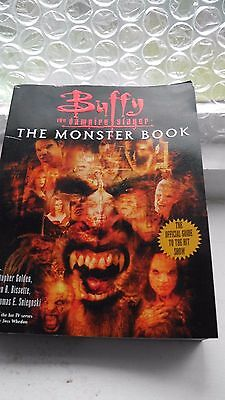 Buffy the Vampire Slayer - The Monster Book - Official Guide to TV show - 2000