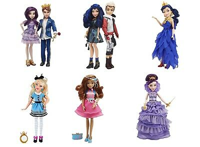 Disney Descendants Doll Mal Evie Carlos Ben Beautiful Fashion Dolls Girls Toy 6+