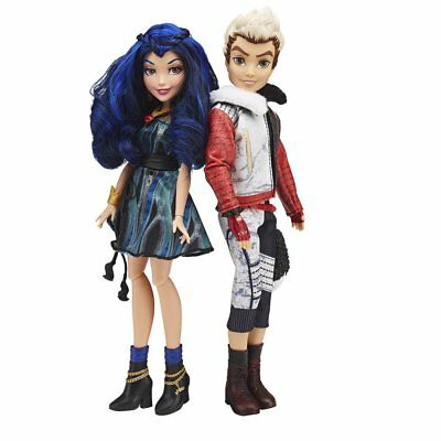Disney Descendants Evie and Carlos Doll Pack of 2 Dolls Girls Toy 6+ New