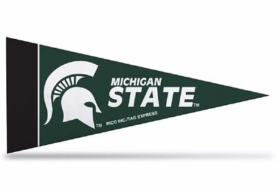 Michigan State Spartans Mini Pennants - 8 Piece Set. Indian Marketplace