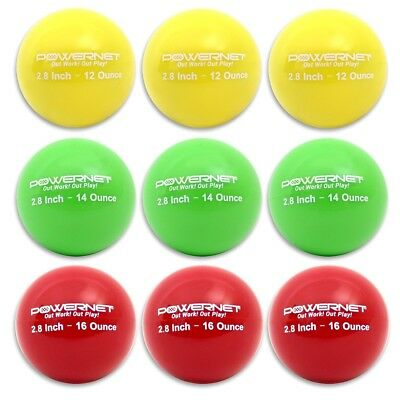 (LITE Pack | 12, 14, 16 Ounces) - PowerNet 7.1cm Weighted Hitting Batting