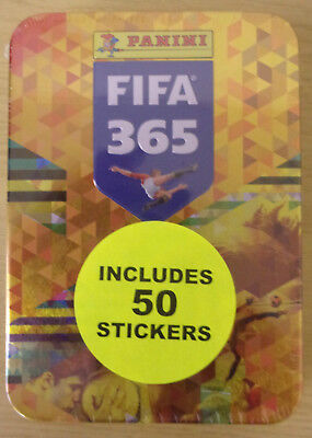 Fifa 365 ~ 2018 Panini Football Sticker Collection ~ Collector's Tin